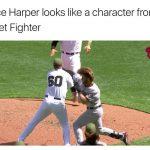 Bryce Harper Street Fighter