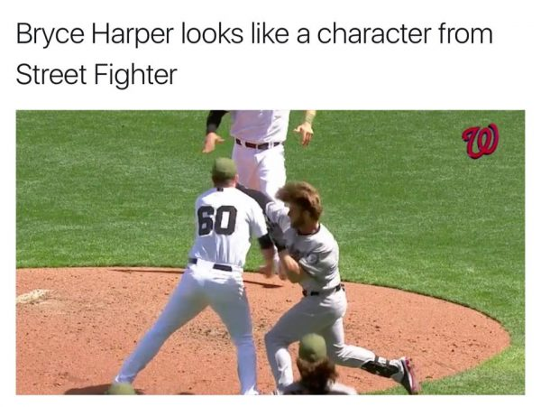 Bryce Harper going to the prom