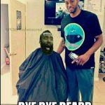 Bye Bye Beard