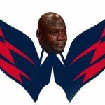 Capitals Crying Jordan