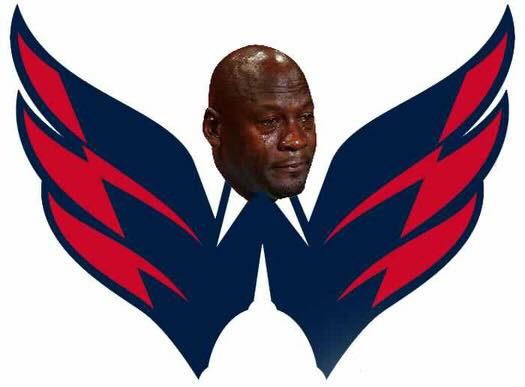 Capitals Crying Jordan