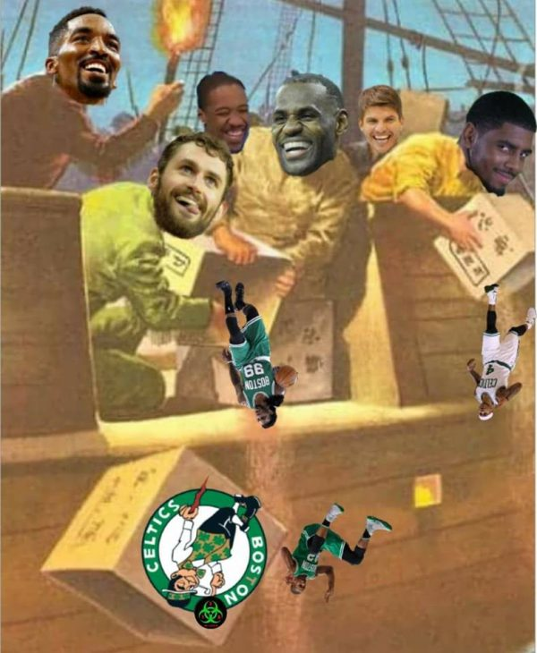 Cavaliers Celtics Tea Party