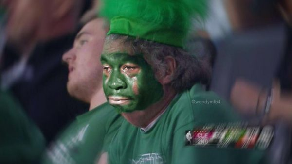 Celtics Fan Crying Jordan