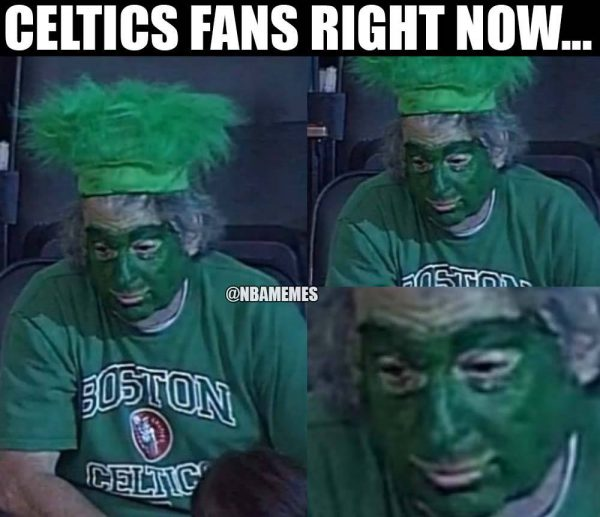 Celtics Fans right now