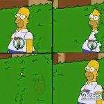 Celtics fans fading away