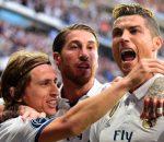 Cristiano Ronaldo, Sergio Ramos, Luka Modric