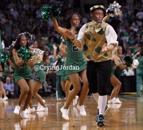 Crying Jordan Celtics