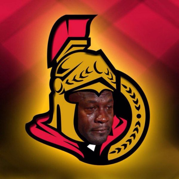 Crying Jordan Senators