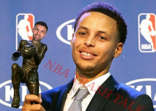 Curry Zaza MVP statue
