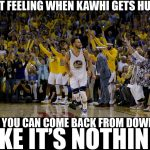 Curry happy Kawhi got hurt