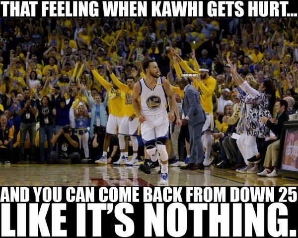 Curry happy Kawhi got hurt