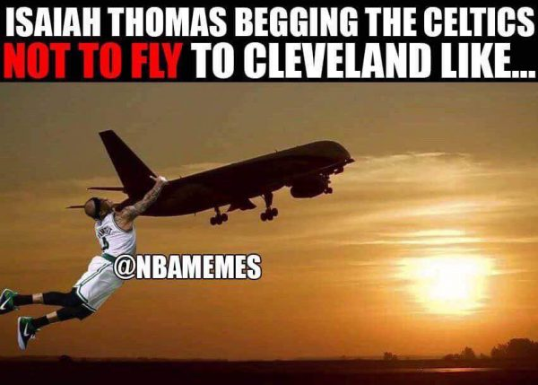 Isaiah Thomas doesn't want to go to Cleveland