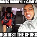 James Harden Baby