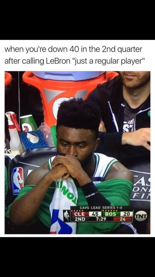 Jaylen Brown Contemplating Life