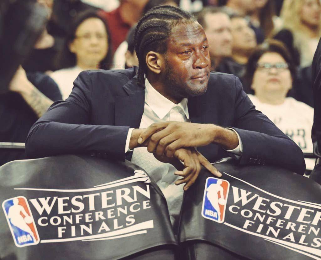 Kawhi Crying Jordan