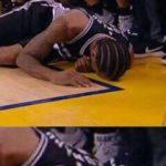 Kawhi Hair Crying Jordan