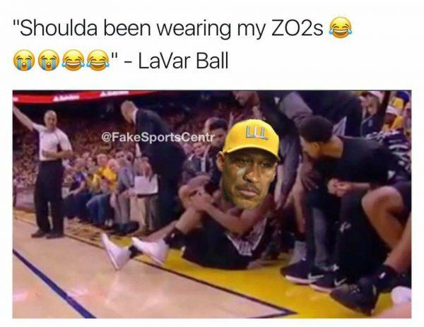 Kawhi Lavar Ball Meme