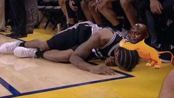 Kawhi Pls Get Up