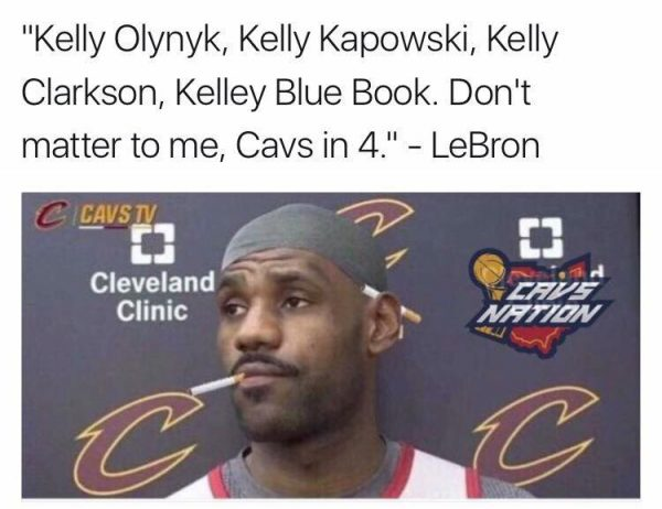 LeBron after game 1