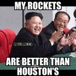 Kim Jung Un HoustonRockets