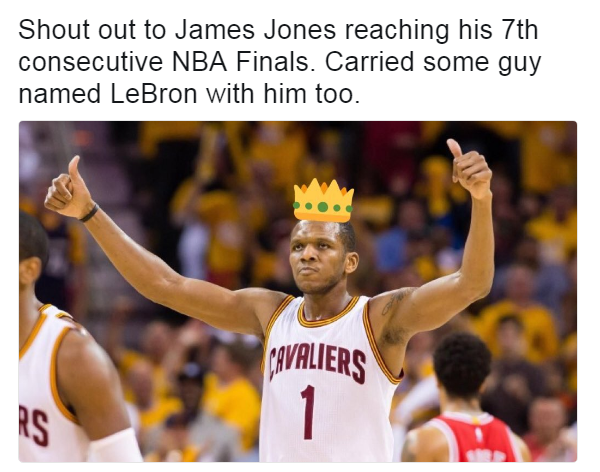 James Jones Carried LeBron