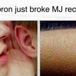 LeBron Broke Mj's Record