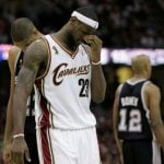 LeBron James 2007 NBA Finals