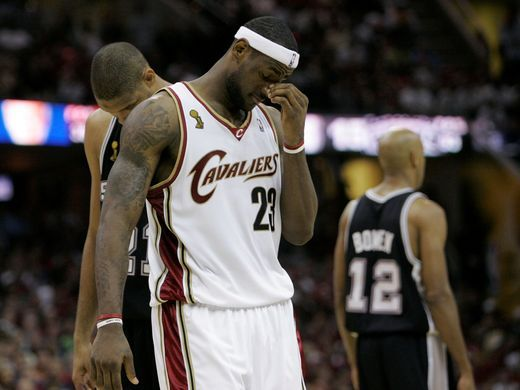 LeBron James 2007 NBA Finals