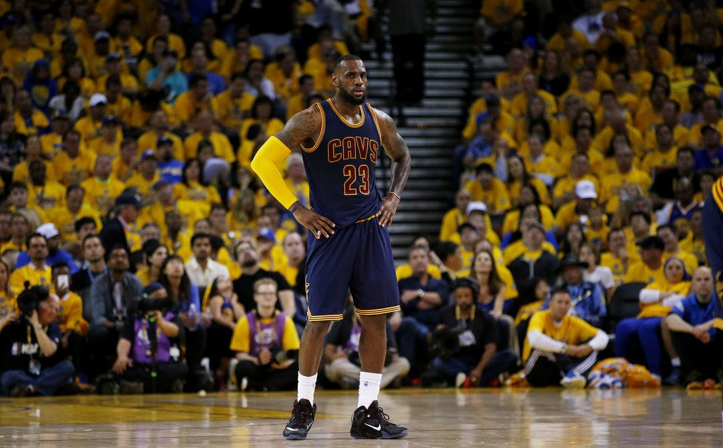 LeBron James 2015 NBA Finals