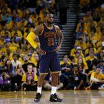 LeBron James 2015 NBA Finals