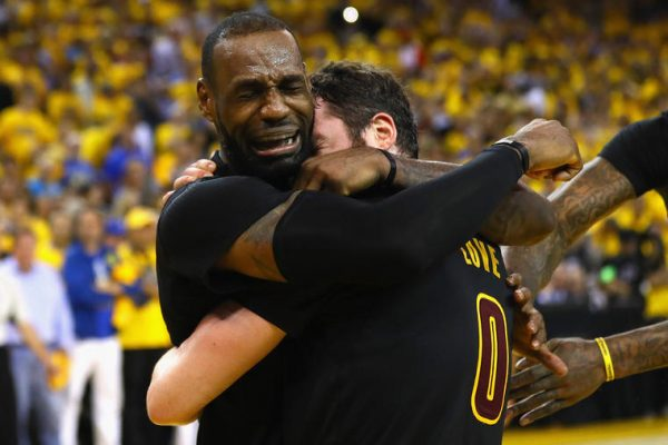 LeBron James Crying Game 7