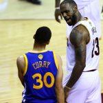 LeBron James Stephen Curry trash talk