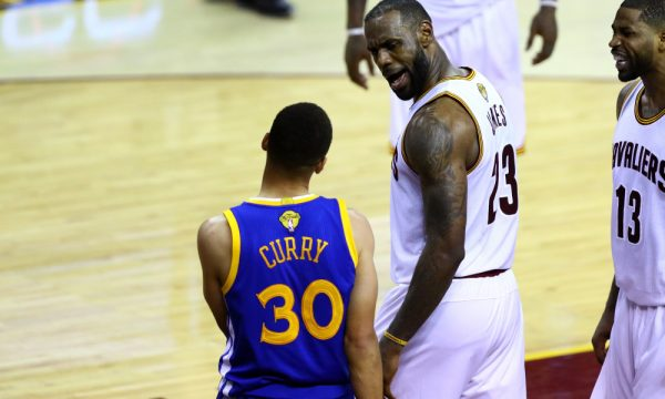 LeBron James Stephen Curry trash talk