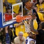 LeBron James block Iguodala