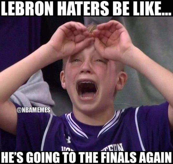 LeBron haters be like