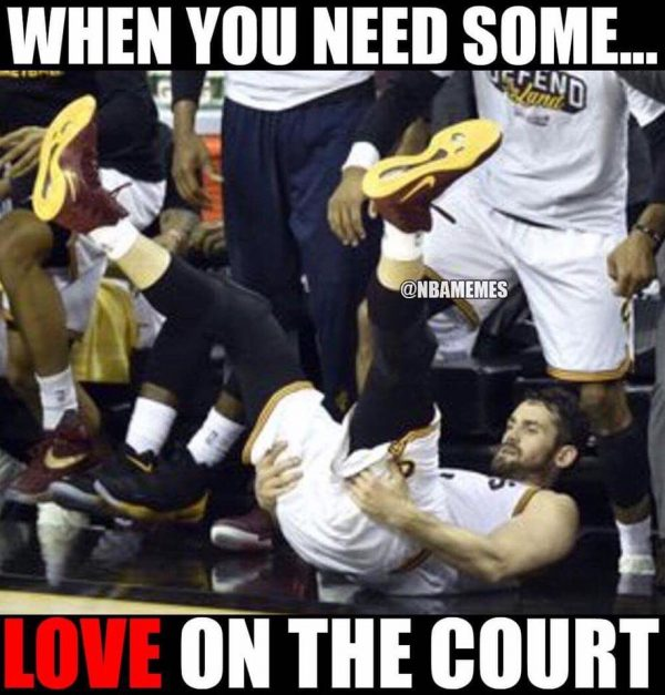 Need some love on the court