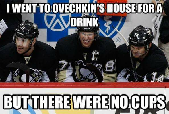 No Cups in Ovechkin's House