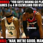 No one wants to play the Cavs