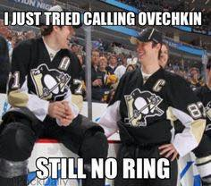 Ovechkin No Ring