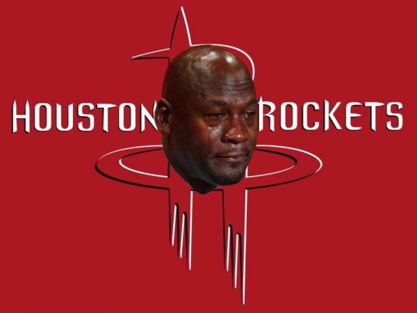 Rockets Crying Jordan Logo