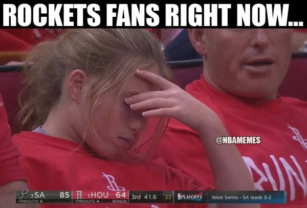 Rockets fans right now