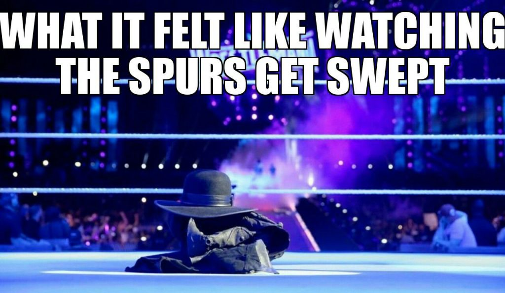 Spurs Swept Undertaker