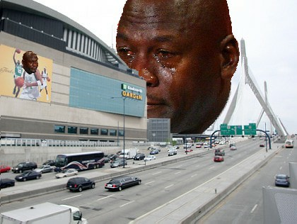 TD Garden Crying Jordan