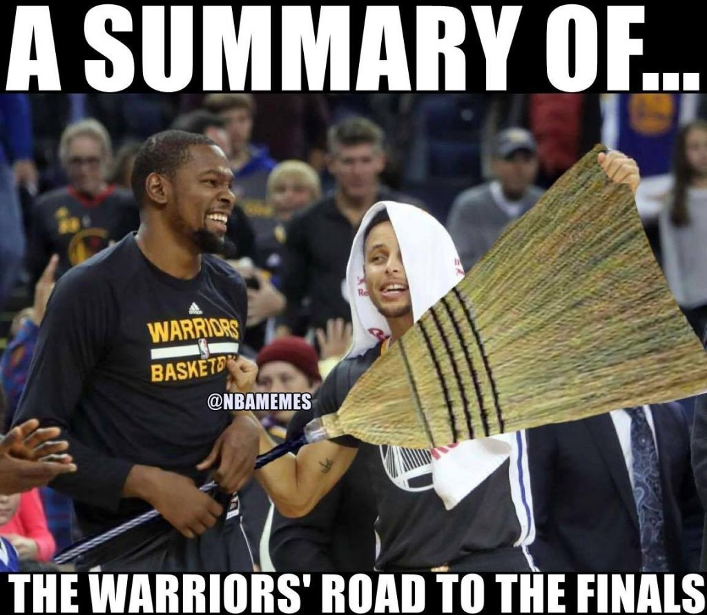 The Warriors road to the final