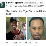 Tiger Woods Cable DirectTV