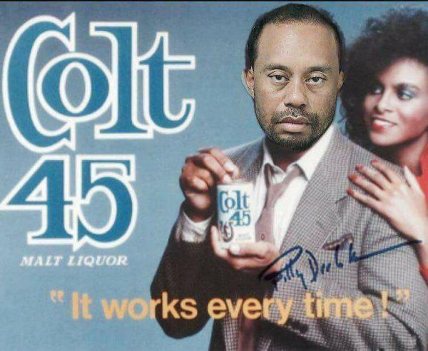 Tiger Woods Colt 45