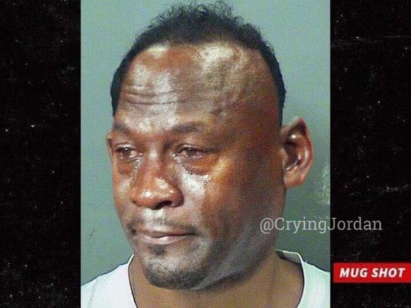 Tiger Woods Crying Jordan