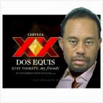 Tiger Woods Dos Equis