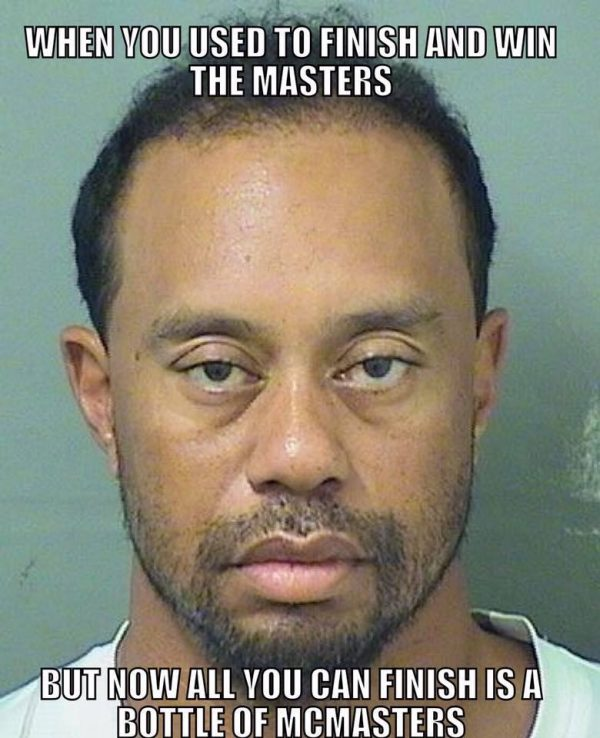 Tiger Woods McMasters