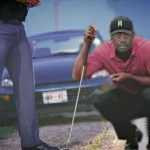 Tiger Woods pulled over
